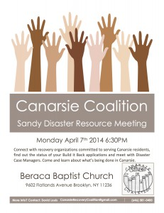 Canarsie Coalition 1st Evening Forum @  Beraca Baptist Church  | New York | United States