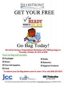 Go Bag Flyer