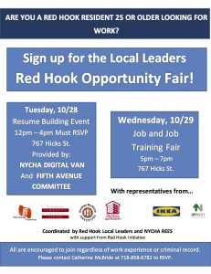 RHLL Opportunity Fair Flyer