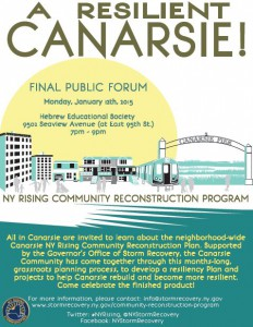 CANARSIE NY Rising Public Engagement Session @ Hebrew Educational Society (HES) | New York | United States