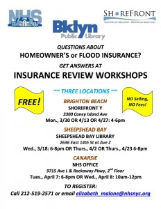 Brighton Beach: FREE Insurance Review Clinic @ Shorefront Y | New York | United States