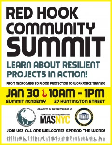 Red Hook Community Summit -Learn About Resilient Projects in Action @ Summit Academy | New York | United States