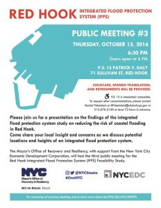 Red Hook Integrated Flood Protection System (IFPS) Feasibility Study - Public Meeting #3 @ P. S. 15  | New York | United States