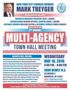 Multi-Agency Town Hall Meeting @ John Dewey High School | New York | United States